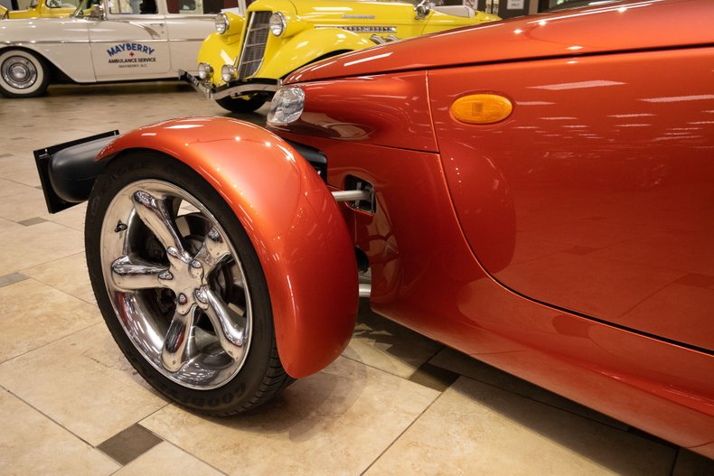 2001 plymouth prowler only 855 original miles