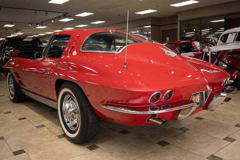 1963 chevrolet corvette split window coupe