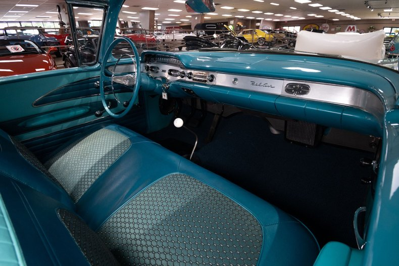 1958 chevrolet bel air big block tri power 4 speed