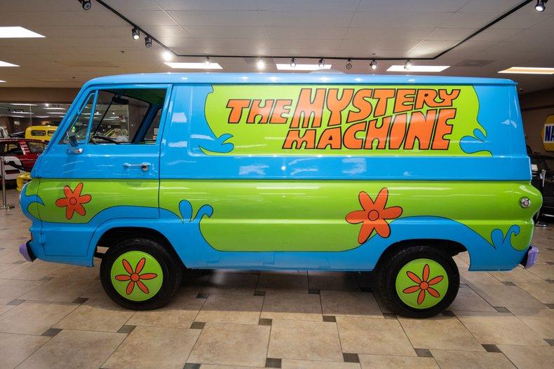 1966 dodge a100 mystery machine