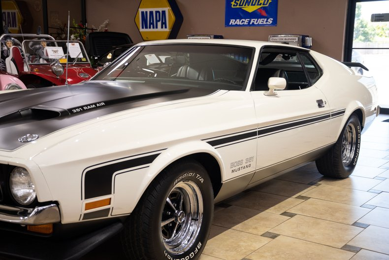 1971 ford mustang boss 351 4 speed