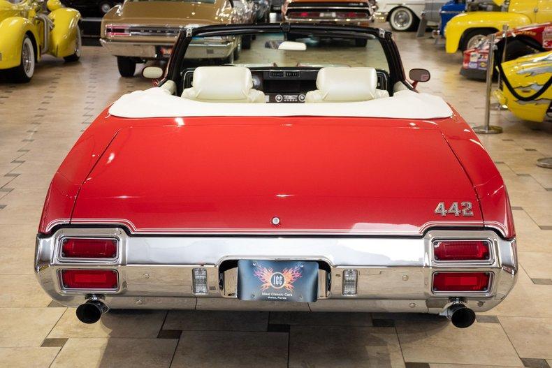 1971 oldsmobile 442 convertible
