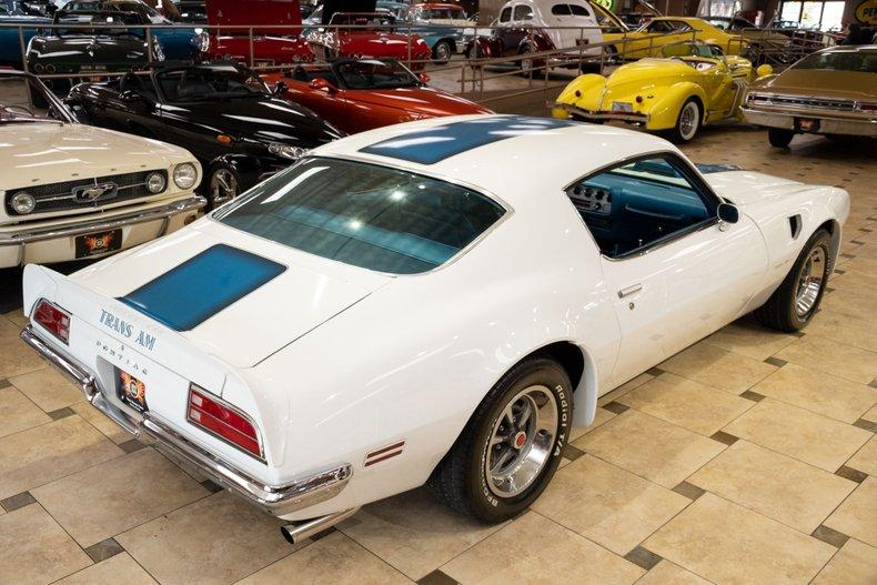1970 pontiac firebird trans am