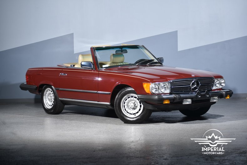 1982 Mercedes-Benz 380 Series