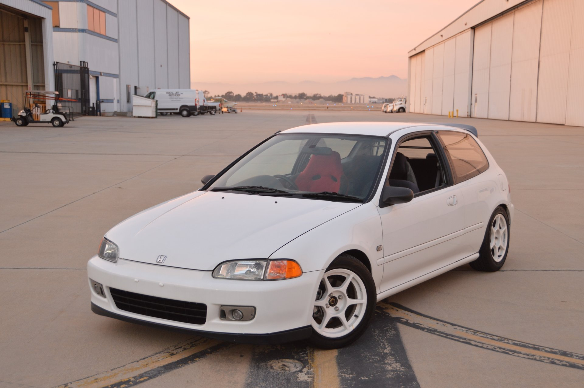 1992 Honda Civic Toprank Motorworks Interior Zoom Icon