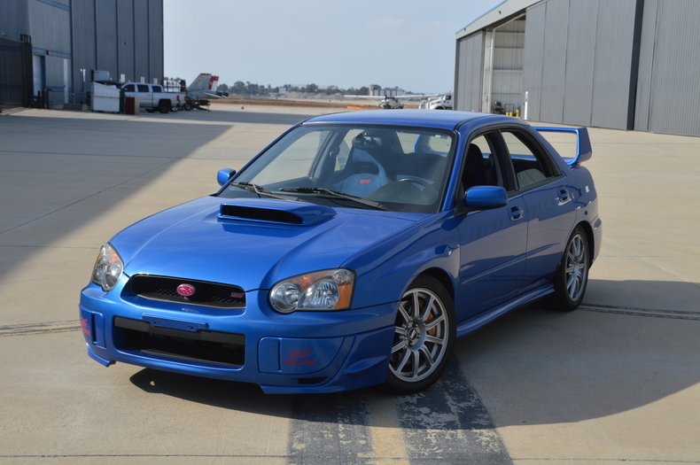 International Vehicle Importers >> 2004 Subaru WRX STI US MODEL | Toprank Importers