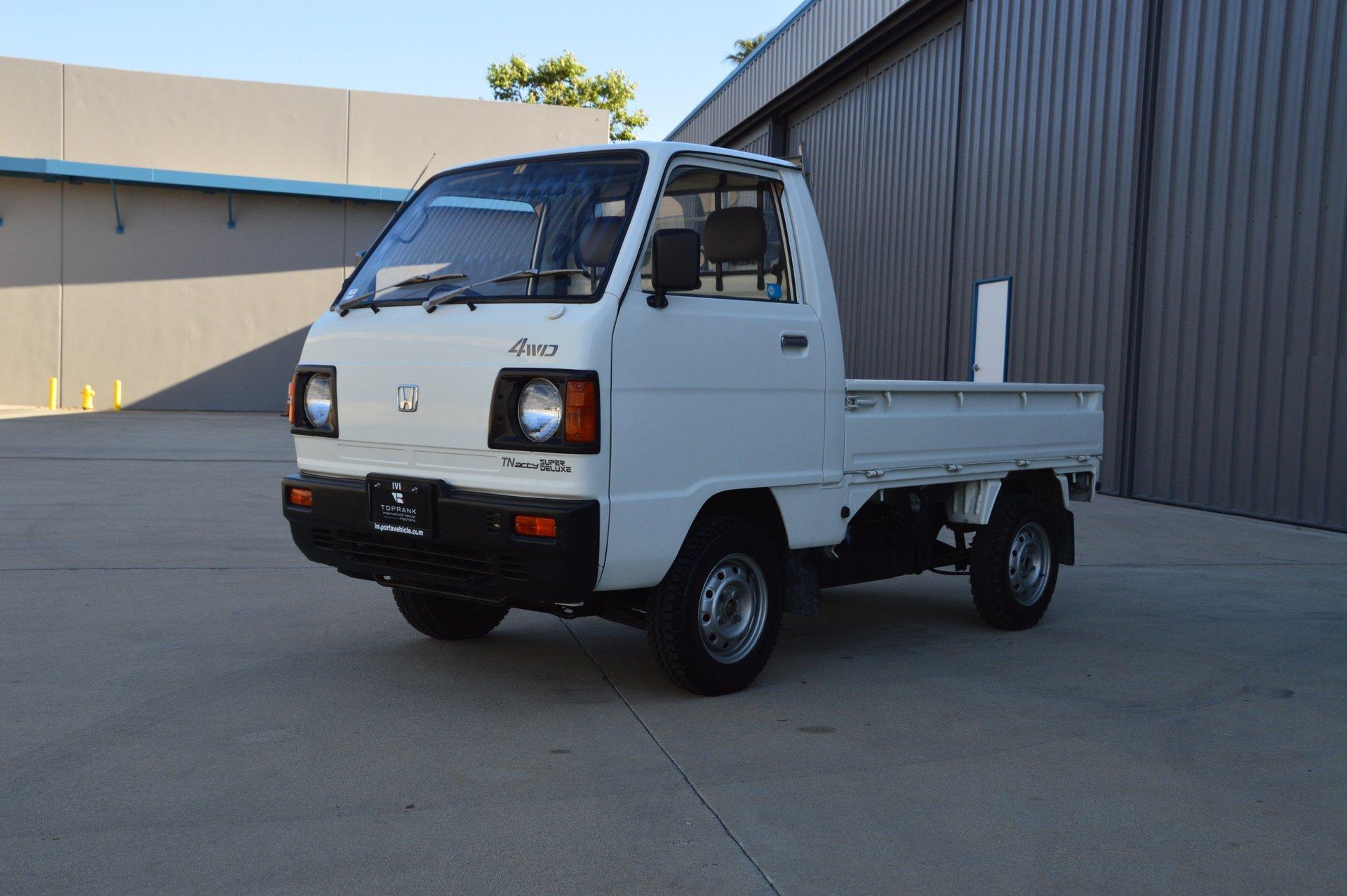 1986 Honda TN ACTY