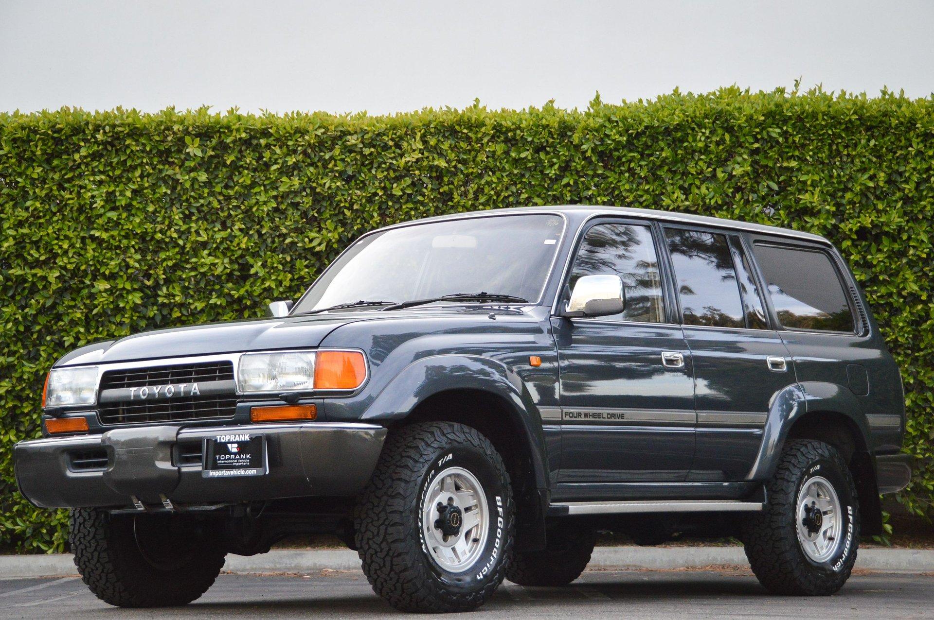 1991 Toyota Land Cruiser VX  Diesel Turbo
