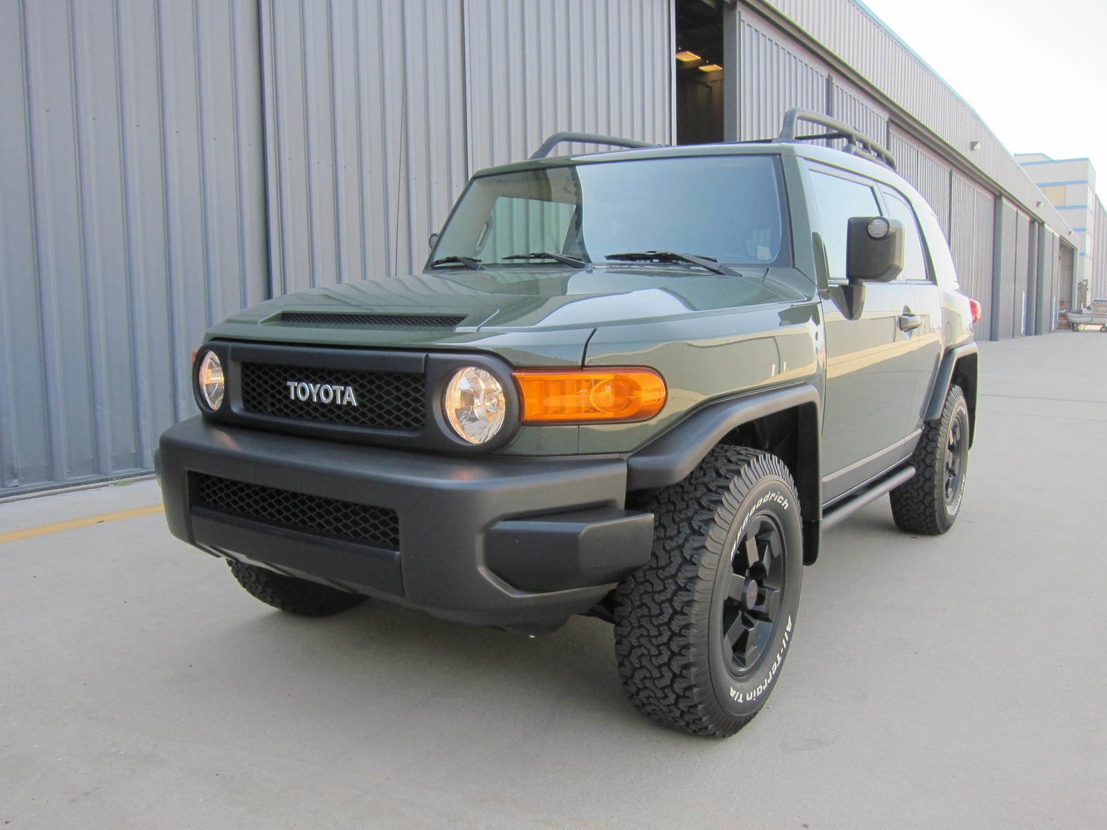 2011 Toyota FJ CRUISER TRAIL TEAM EDITION