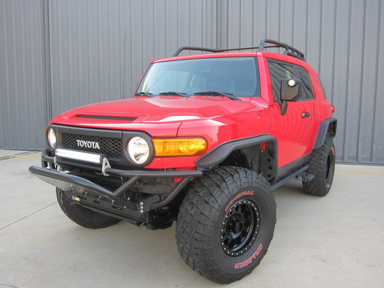 2012 Toyota FJ CRUISER TRAIL TEAM EDITION