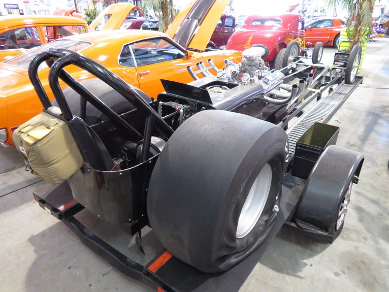 Assembled Front Engine Dragster Race Car