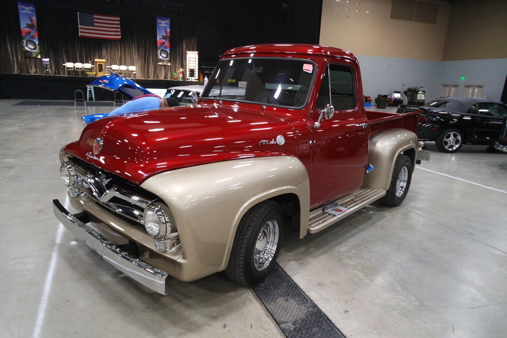 1954 ford f100 custom