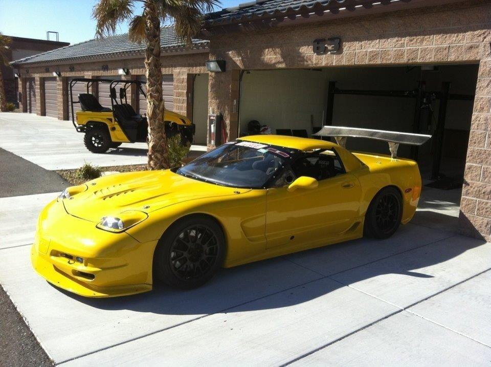 2003 chevrolet corvette ls7 texas world challenge car