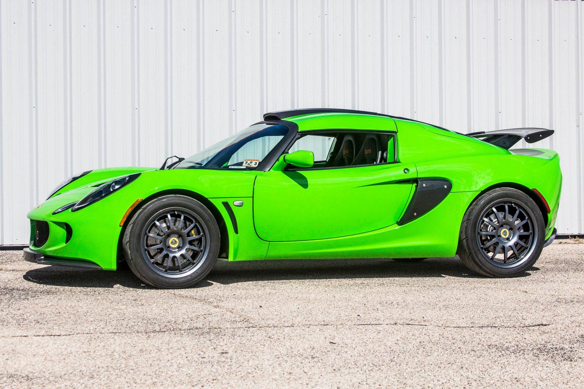 2009 lotus exige s260 sports coupe