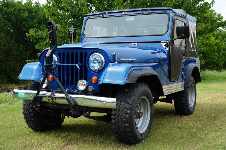 1965 Jeep CJ Tuxedo Park Edition