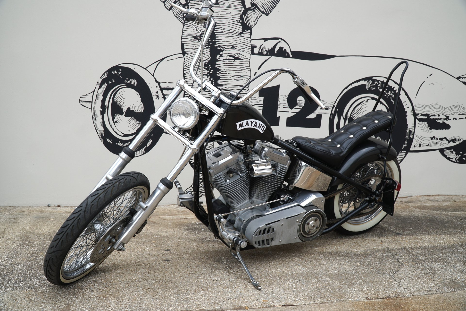 2005 spsll old school chopper motorcycle mayan sons of anarchy