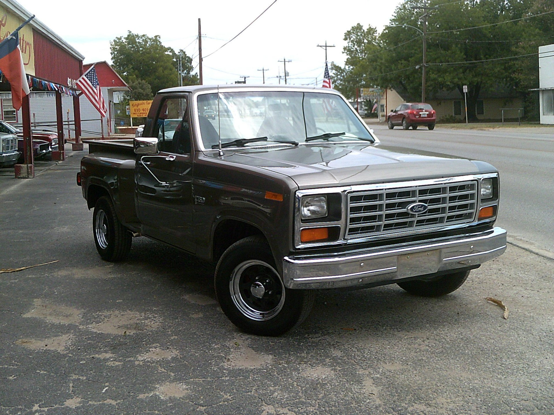 1984 ford f150 flareside short bed