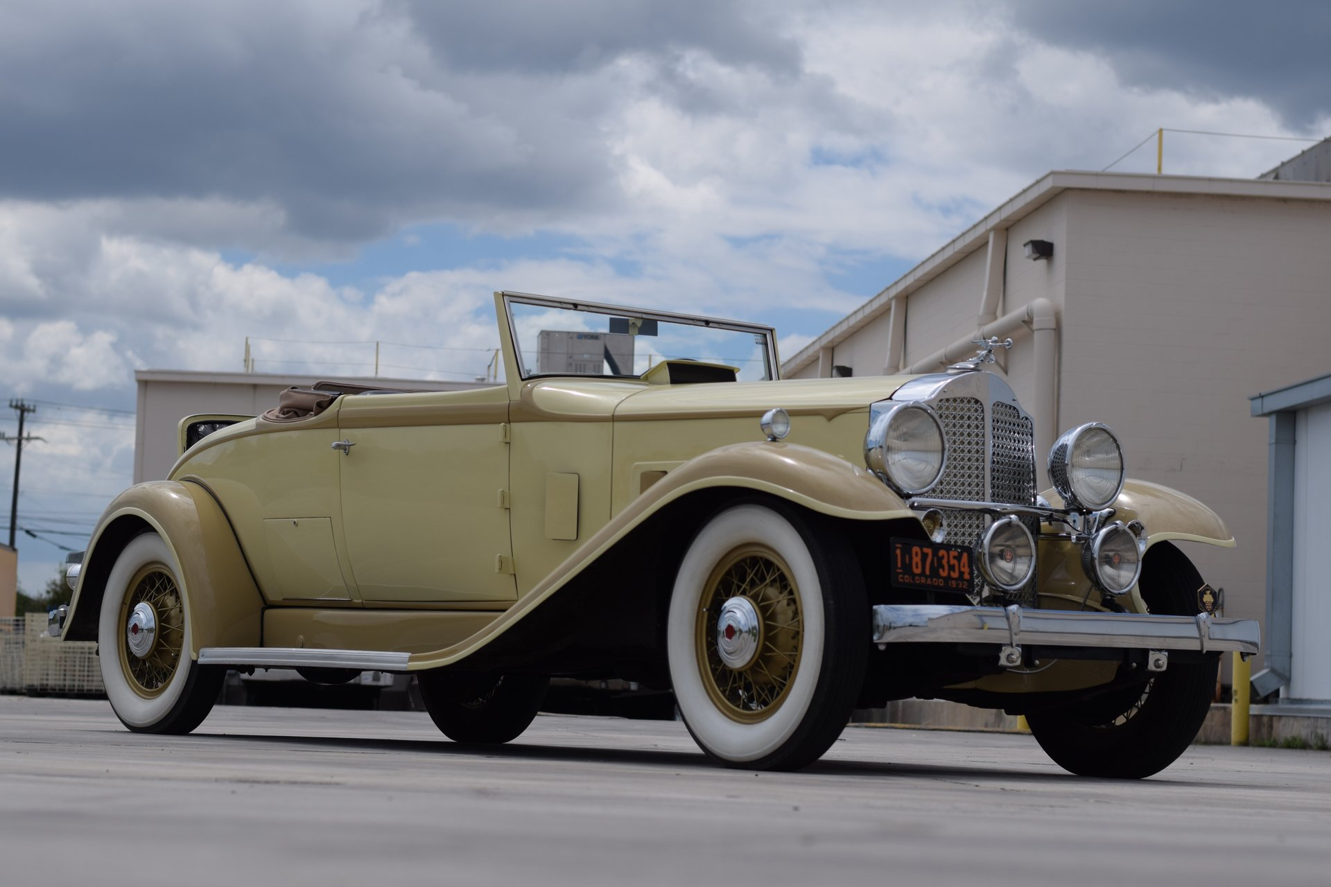 1932 packard model 902 9th series