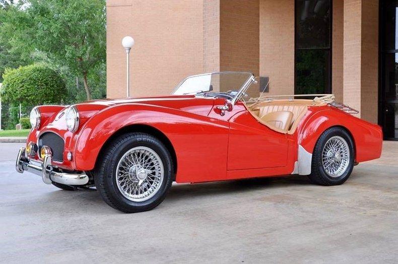 1957 Triumph Tr3 Dan Kruse Classics