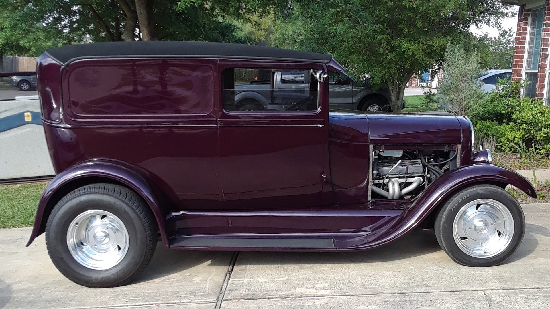 1929 ford model a street rod