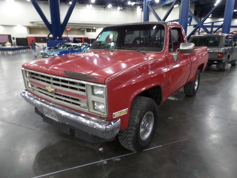 1986 Chevrolet C/K 10 Custom