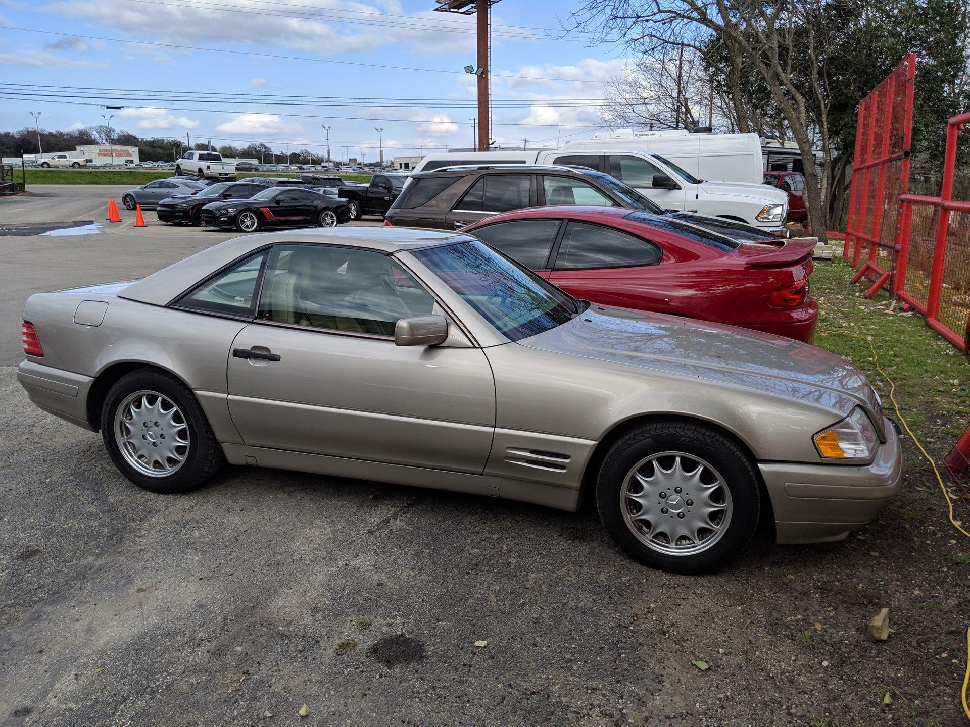 1998 mercedes benz sl 500