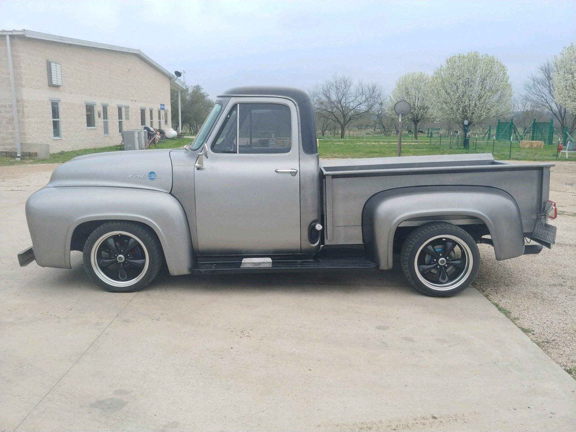 1955 ford f100 street rod
