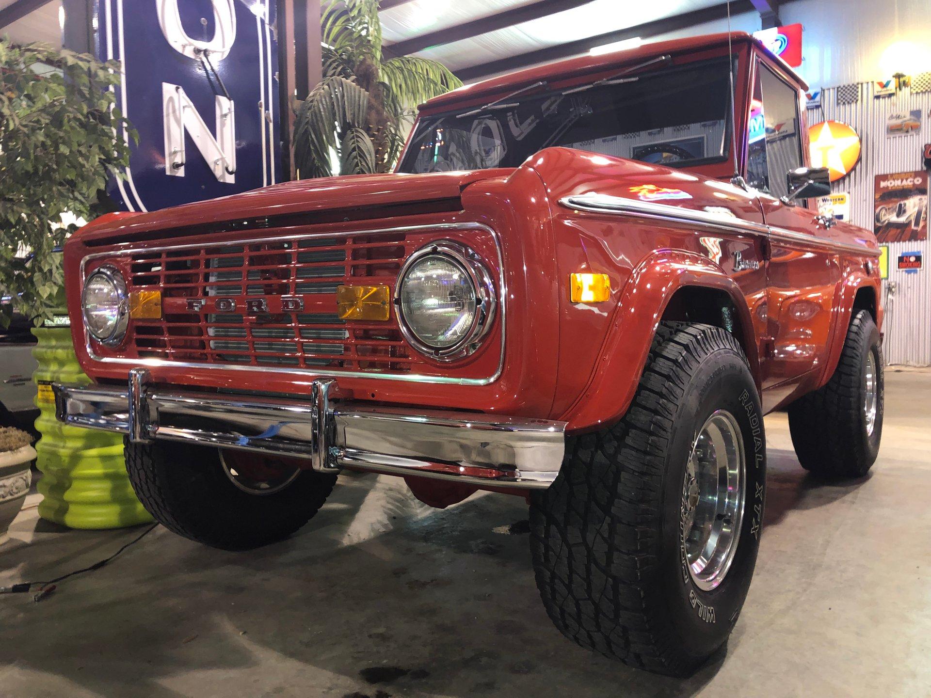 1975 ford bronco custom 4x4