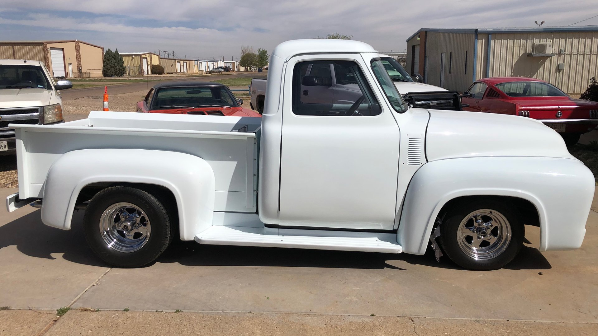 1953 ford f100 stepside restomod