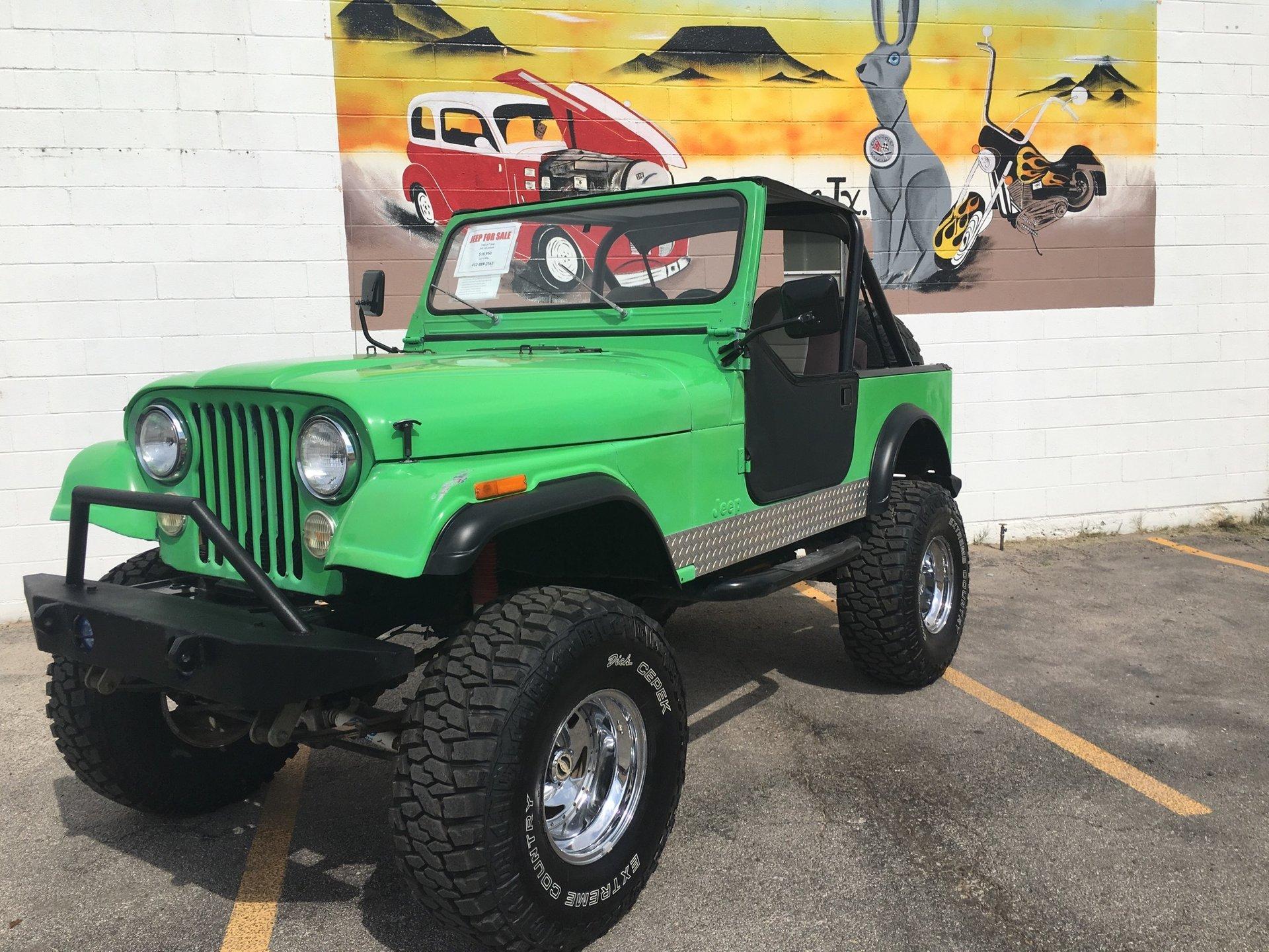 1982 jeep cj7 custom
