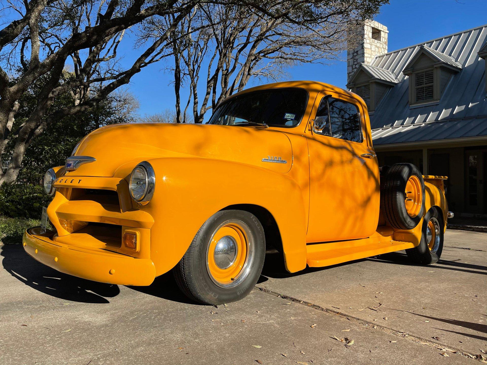 1954 chevrolet 3100 custom