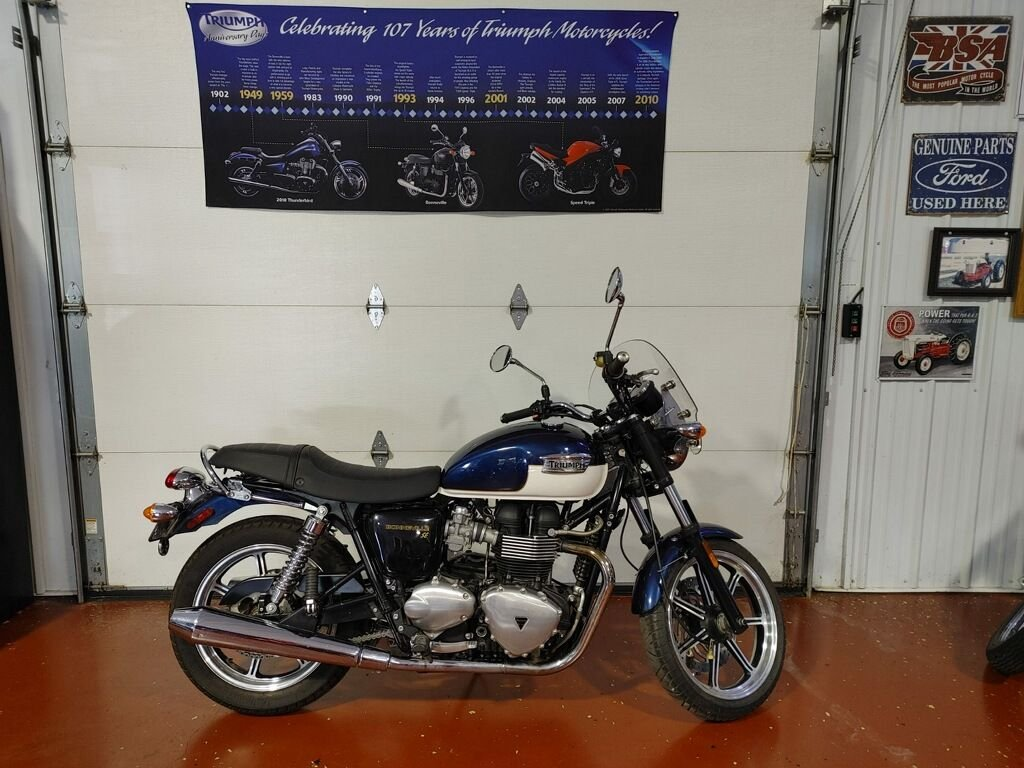 2010 triumph bonneville america motorcycle