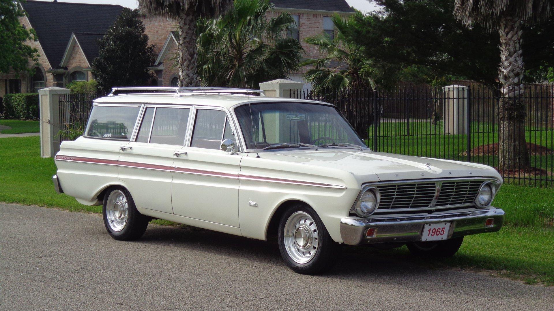 1965 ford falcon squire