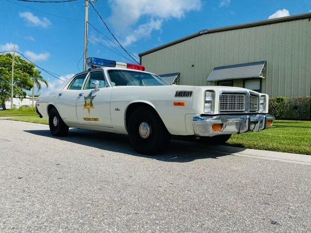 1977 dodge monaco replica of sheriff roscoe p coltrane s dukes of hazard car