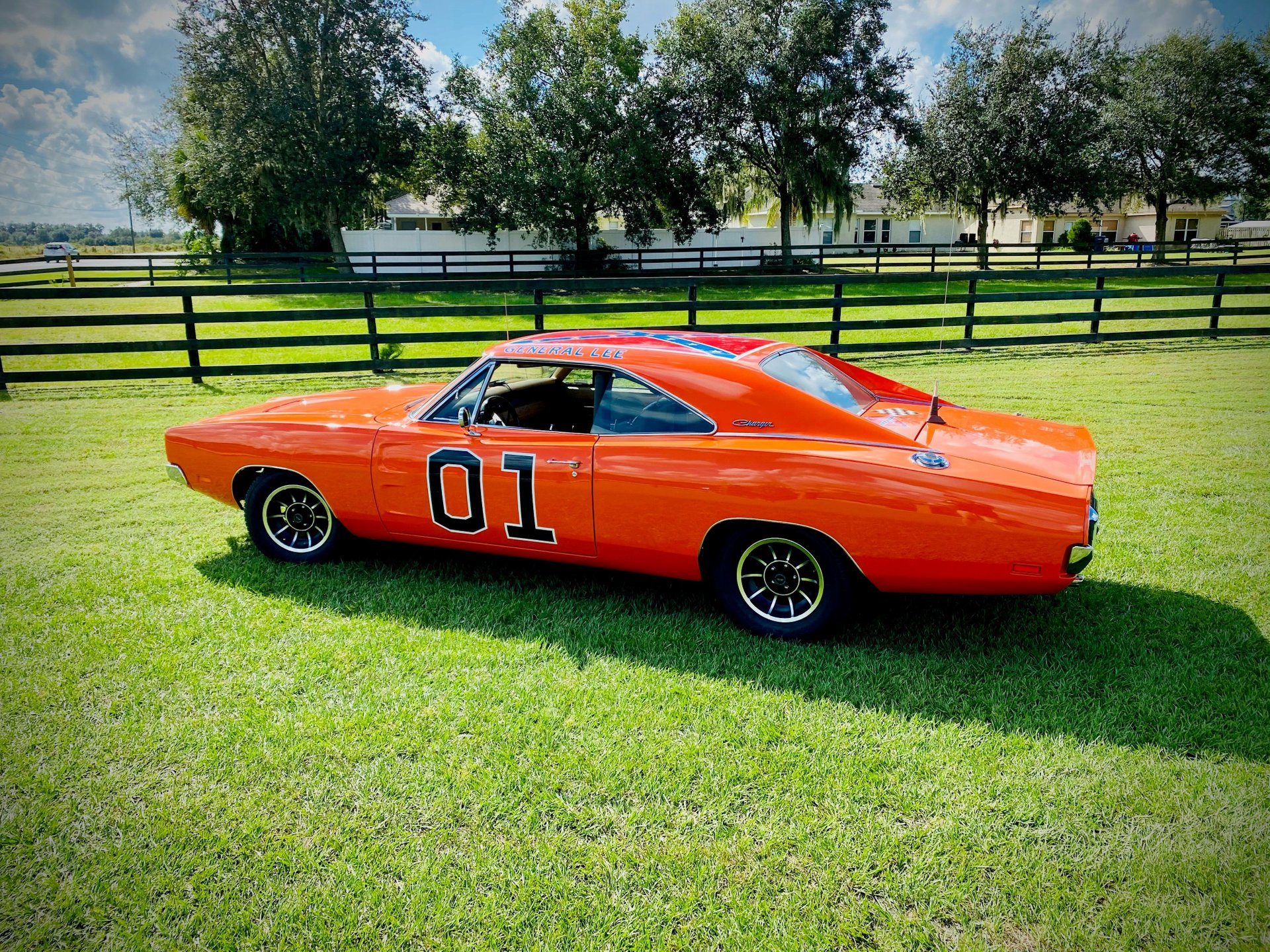 1969 dodge charger r t replica of dukes of hazard general lee
