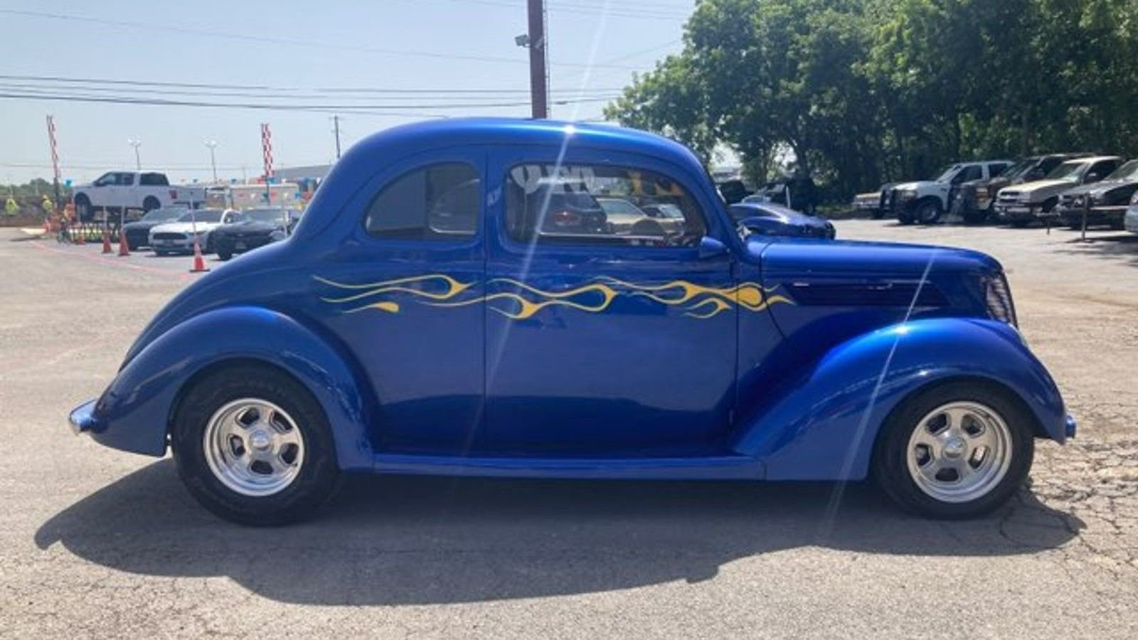 1937 ford model 78 restomod club coupe