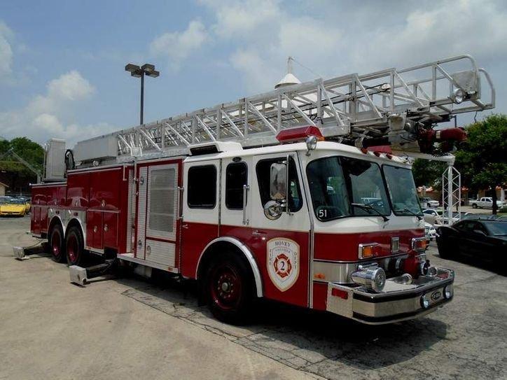1992 e one hush qunit hurricane fire truck