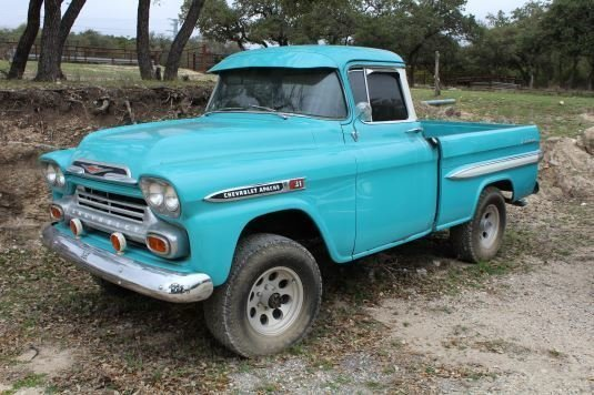 1959 chevrolet 3100 apache 4x4 napco conversion
