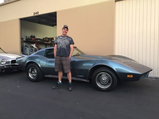 1974 chevrolet corvette custom coupe