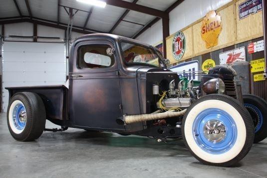 1937 gmc custom rat rod