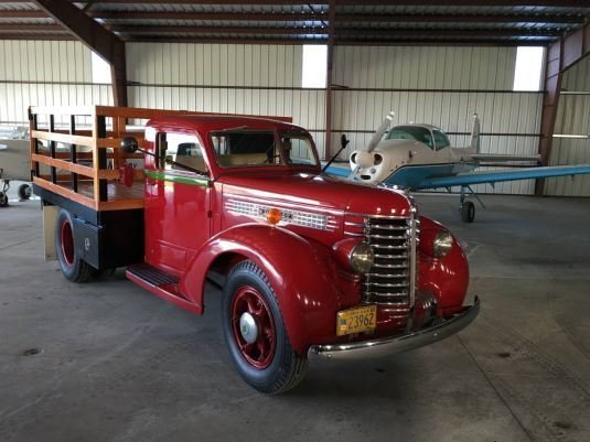 1940 diamond t model d201 stake bed truck