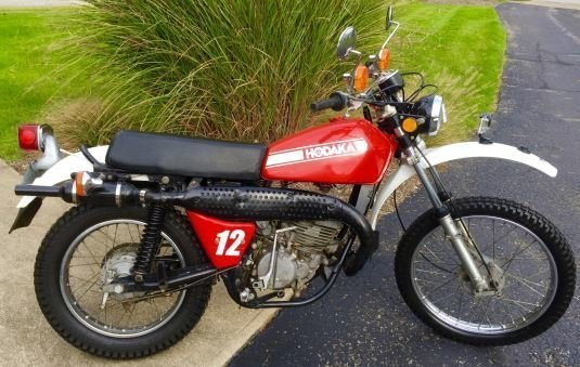 1978 hodaka 250 sl dual purpose 70a sport motorcycle