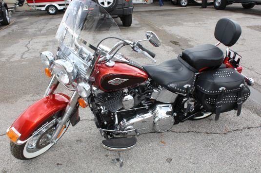 2013 harley davidson flstc heritage softail classic motorcycle