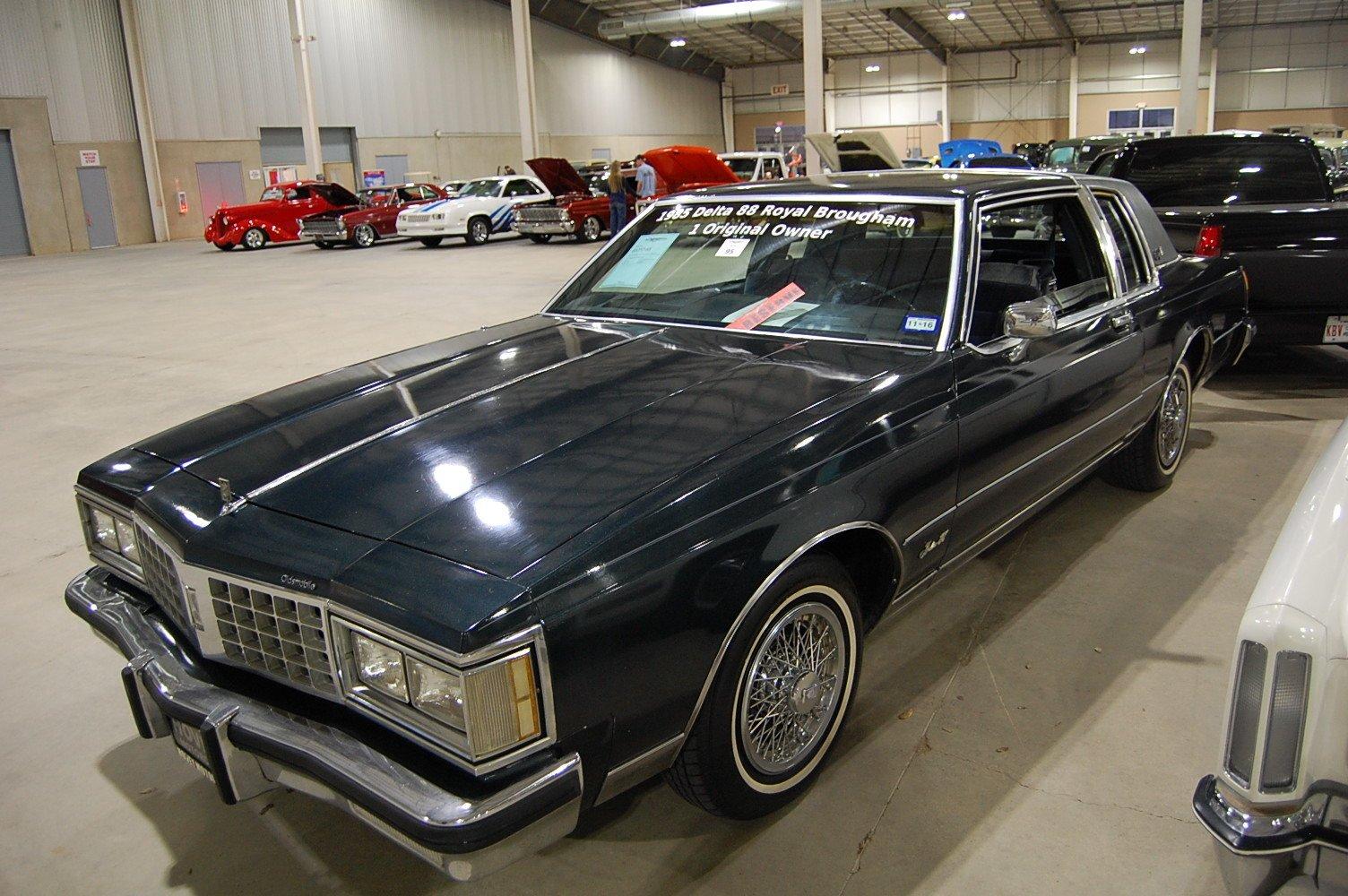 1985 oldsmobile delta 88 royale brougham