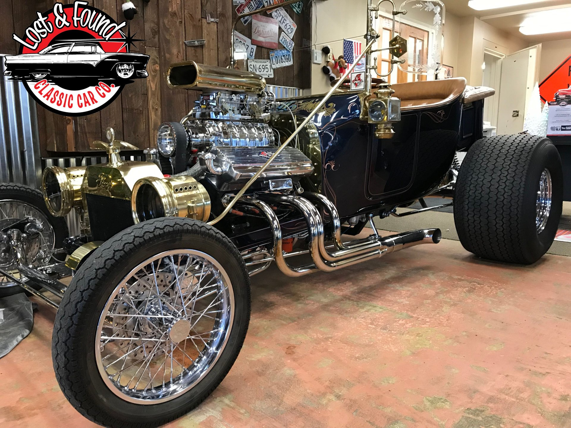 1923 ford t bucket 70 s show car
