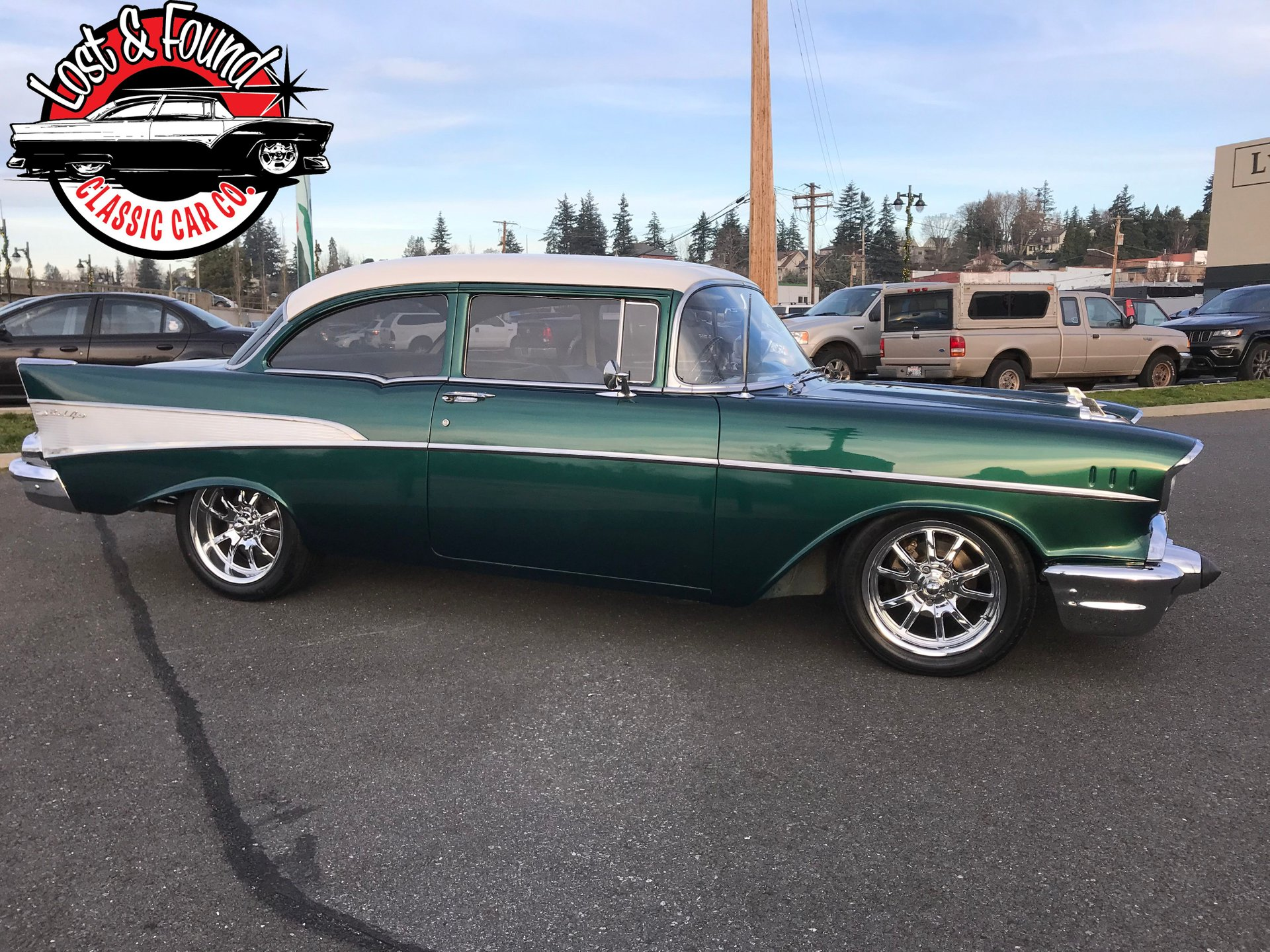 1957 Chevrolet Bel Air 210 Lost Found Classic Car Co 1966 Radiator
