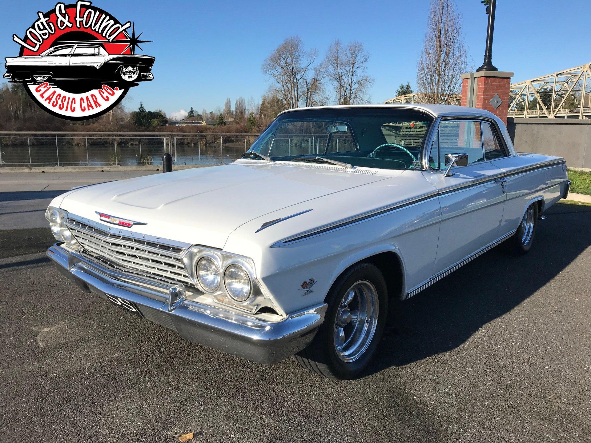 1962 chevrolet impala dual quad 348