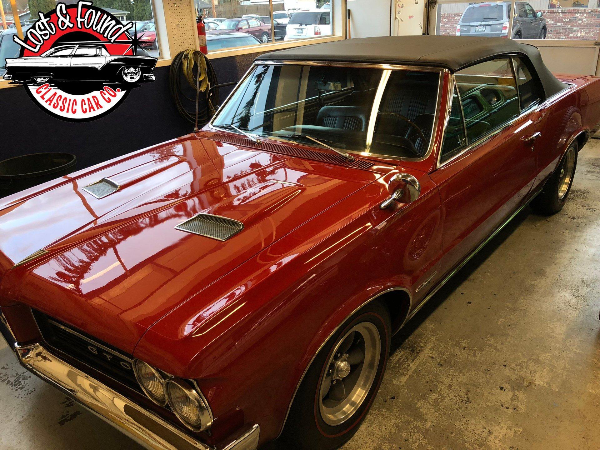 1964 Pontiac Gto Convertible Lost Found Classic Car Co 1960