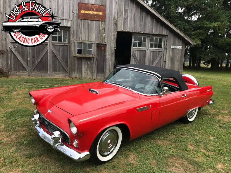 1956 Ford Thunderbird Convertible For Sale