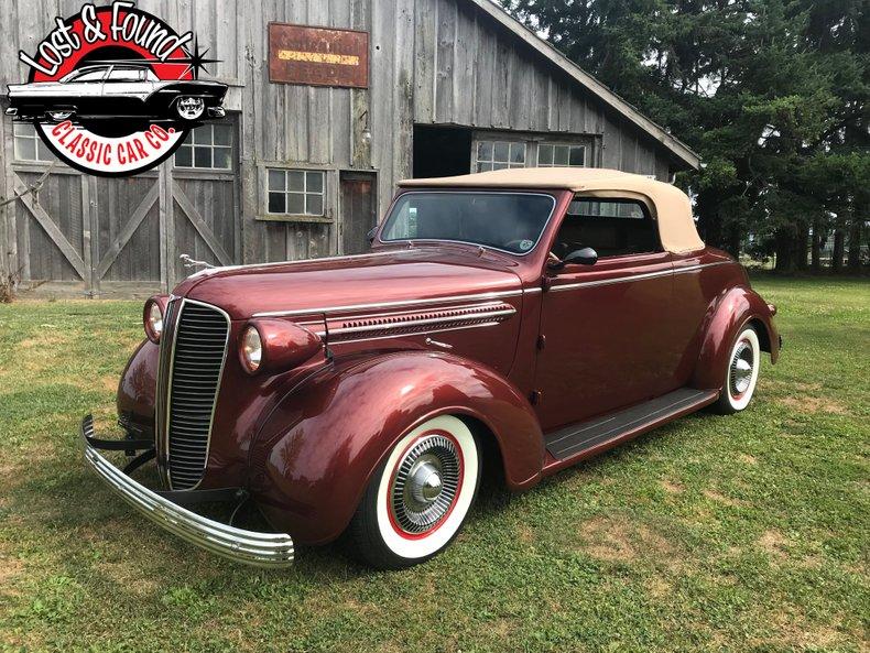1937 Dodge Convertible HEMI | Lost & Found Classic Car Co